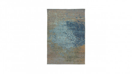 planeo Teppich - Blaze 100 Multi / Blau