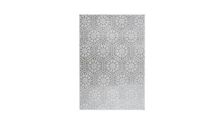 planeo Teppich - Monroe 200 Grau / Blau