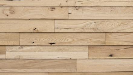 Wandverkleidung Holz planeo Woodwall Easyfix - Eiche Natur