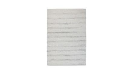 planeo Teppich - Prime 110 Weiß / Grau