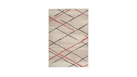 planeo Teppich - Vancouver 110 Creme / Braun / Rosé