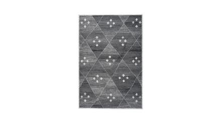 planeo Teppich - Vancouver 510 Grau / Weiß