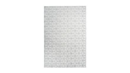 planeo Teppich - Vivica 125 Weiß / Anthrazit