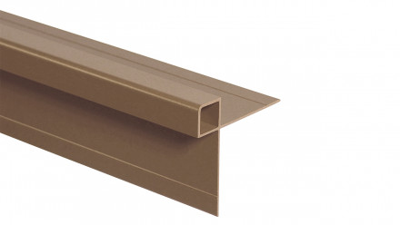 Trespa Proface Außeneckprofil - Aged Ash/Mystic Cedar 3000 mm