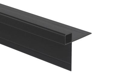 Trespa Proface Außeneckprofil - Schwarz 3000 mm
