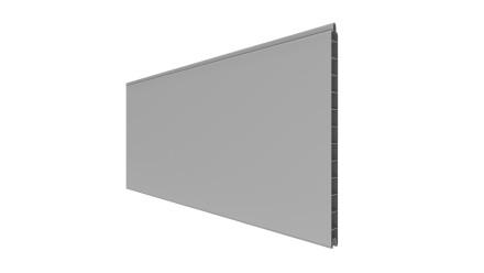 planeo Basic - Einzelprofil Silbergrau