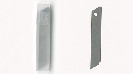 Cutterklingen aus Stahl 0,4 x 18 mm 10Stk.