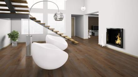 Wineo 400 wood XL Klebevinyl - Intuition Oak Brown