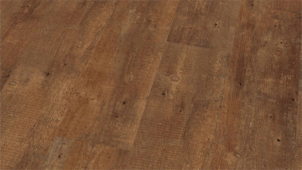 Wineo Vinylboden - Ambra Wood Pine Boston Brown - Klick-Vinyl Landhausdiele (1-Stab)