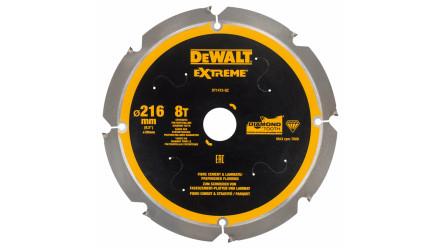 DeWalt Diamant Kreissägeblatt PCD 216mm 8 Zähne - 30mm Aufnahme