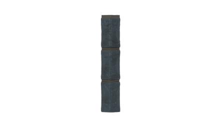 Zierer Bruchsteinoptik Ecke für BS1 - 54 x 54 x 345 mm anthrazit aus GFK