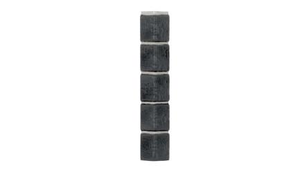 Zierer Klinkeroptik Ecke - 50 x 50 x 345 mm anthrazit geflammt aus GFK