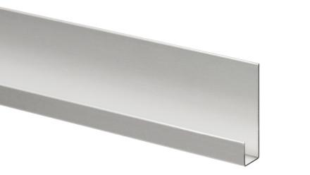 Trespa Proface Endprofil - Aluminium 3000 mm