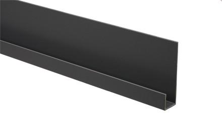 Trespa Proface Endprofil - New York Grey 3000 mm