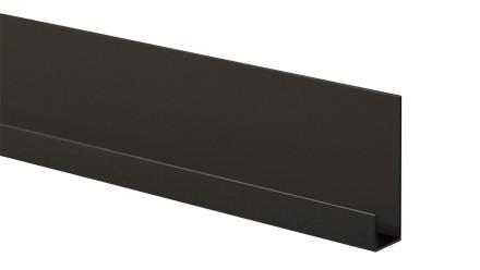 Trespa Proface Endprofil - Schwarz 3000 mm