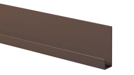 Trespa Proface Endprofil - Slate Ebony 3000 mm