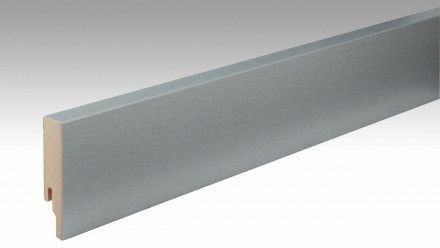 Wineo Fußleiste Edelstahl Classic skirting stainless steel 80 18 x 80 x 2380 mm