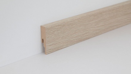 Wineo Fußleiste Kindness Oak Pure 16 x 60 x 2380 mm
