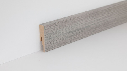 Wineo Fußleiste Tirol Oak Silver 16 x 60 x 2380 mm