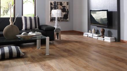 KWG Vinylboden - Antigua Professional Authentic Herzeiche markant - Klebevinyl Landhausdiele (1-Stab)