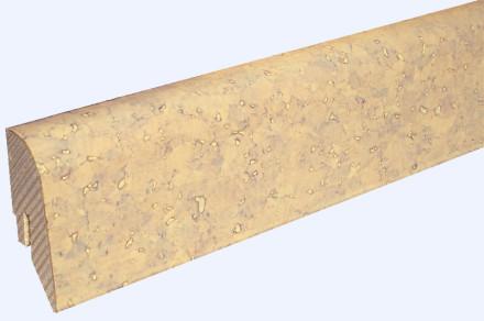 KWG Sockelleisten für Korkboden - 22 x 45mm - creme - grob