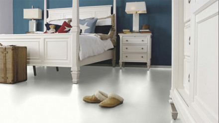 Wineo Laminat - 550 White matt -  Fliese