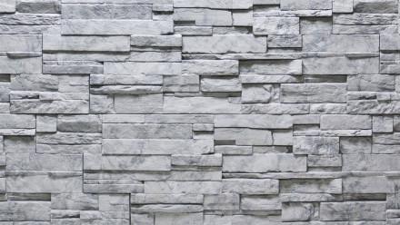 planeo Fassadenplatte Steinoptik - NoviStone Grigio 1054 x 334 mm