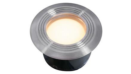 planeo Terrassenbeleuchtung 12V - LED-Einbauleuchte Onyx60 R1 - 1W 23Lumen