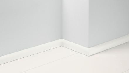 Parador Sockelleisten SL 2 - 50x19,5x2200 mm - Uni Weiss glänzend Dekor D003