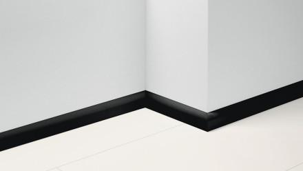 Parador Sockelleisten SL 2 - 50x19,5x2200 mm - Uni schwarz Dekor D002