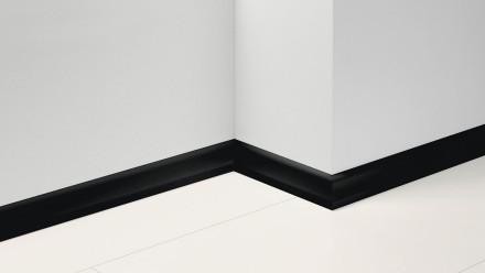Parador Sockelleisten SL 4 - 19,5x60mm - Uni schwarz Dekor