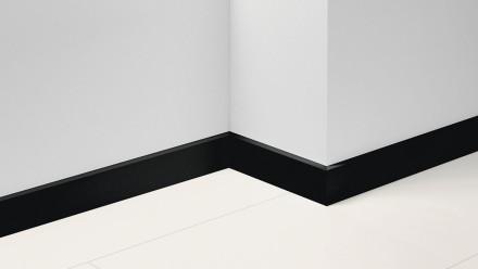 Parador Sockelleisten SL 18 - 16,5x70mm - Uni schwarz Dekor