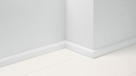 Parador Sockelleisten SL 2 - 50x19,5x2200 mm - Uni Weiss Dekor D001