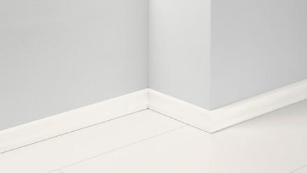 Parador Sockelleisten SL 4 - 19,5x60mm - Esche Struktur weiß - furniert