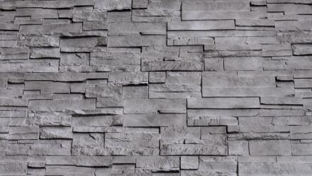 planeo Fassadenplatte Steinoptik - NoviStone Anthracite 1054 x 334 mm