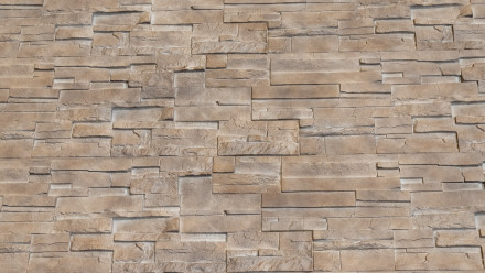 planeo Fassadenplatte Steinoptik - NoviStone Limestone 1054 x 334 mm