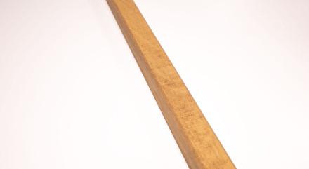 planeo INDO - Holzleiste Goldbraun - 2.4m