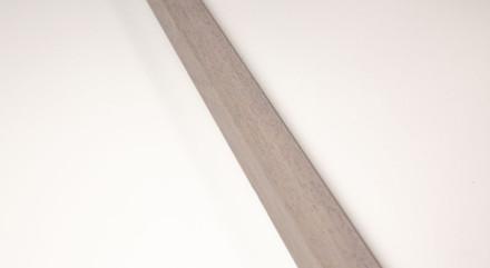 planeo INDO - Holzleiste Grau - 2.4m