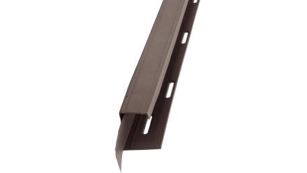 planeo Fassaden Universelles U-Profil 2-tlg. Cedar Blend - 1850 x 50 x 50 mm