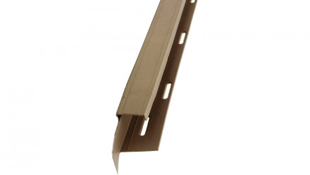 planeo Fassaden Universelles U-Profil 2-tlg. Desert Blend - 1850 x 50 x 50 mm