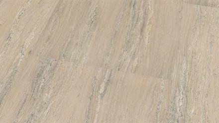 Wineo Bioboden - Purline Stone XL Milas Beach - Fliese Perlenstruktur