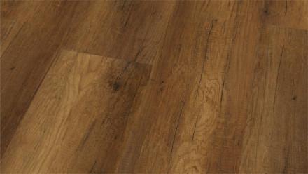 Wineo Bioboden - Purline Wood XL Calistoga Chocolate - Landhausdiele (1-Stab) Holzstruktur