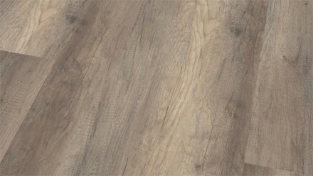 Wineo Bioboden - Purline Wood XL Calistoga Grey - Landhausdiele (1-Stab) Holzstruktur