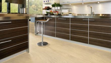 Wineo Bioboden 1500 wood Floating Wood Sand - 20mx2m (Rolle)