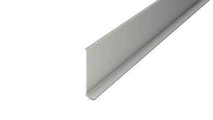 Prinz Aluminium-Sockelleiste / Fußleiste 11 x 60 mm - 270 cm