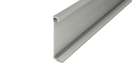 Prinz Aluminium-Sockelleiste / Fußleiste für Designbeläge 270 cm