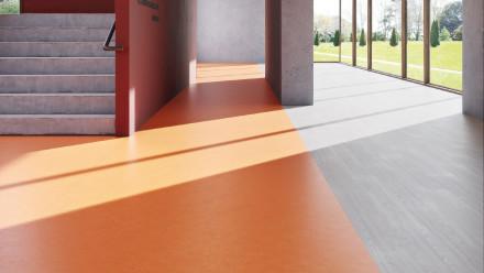 Wineo Bioboden 1500 Chip Terracotta Dark - 20mx2m (Rolle)