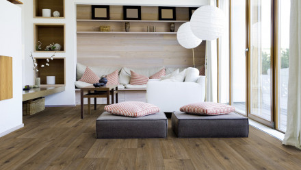 Gerflor PVC-Boden - TEXLINE SHERWOOD BROWN