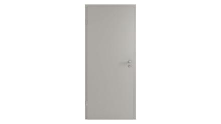 planeo CPL-Innentür CPL 1.0 - Pelle Silbergrau 2110 x 985 mm DIN L - Rund RSP Band 2-t