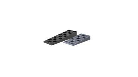 planeo Justierkeile Grau 14-40mm Kunststoff
